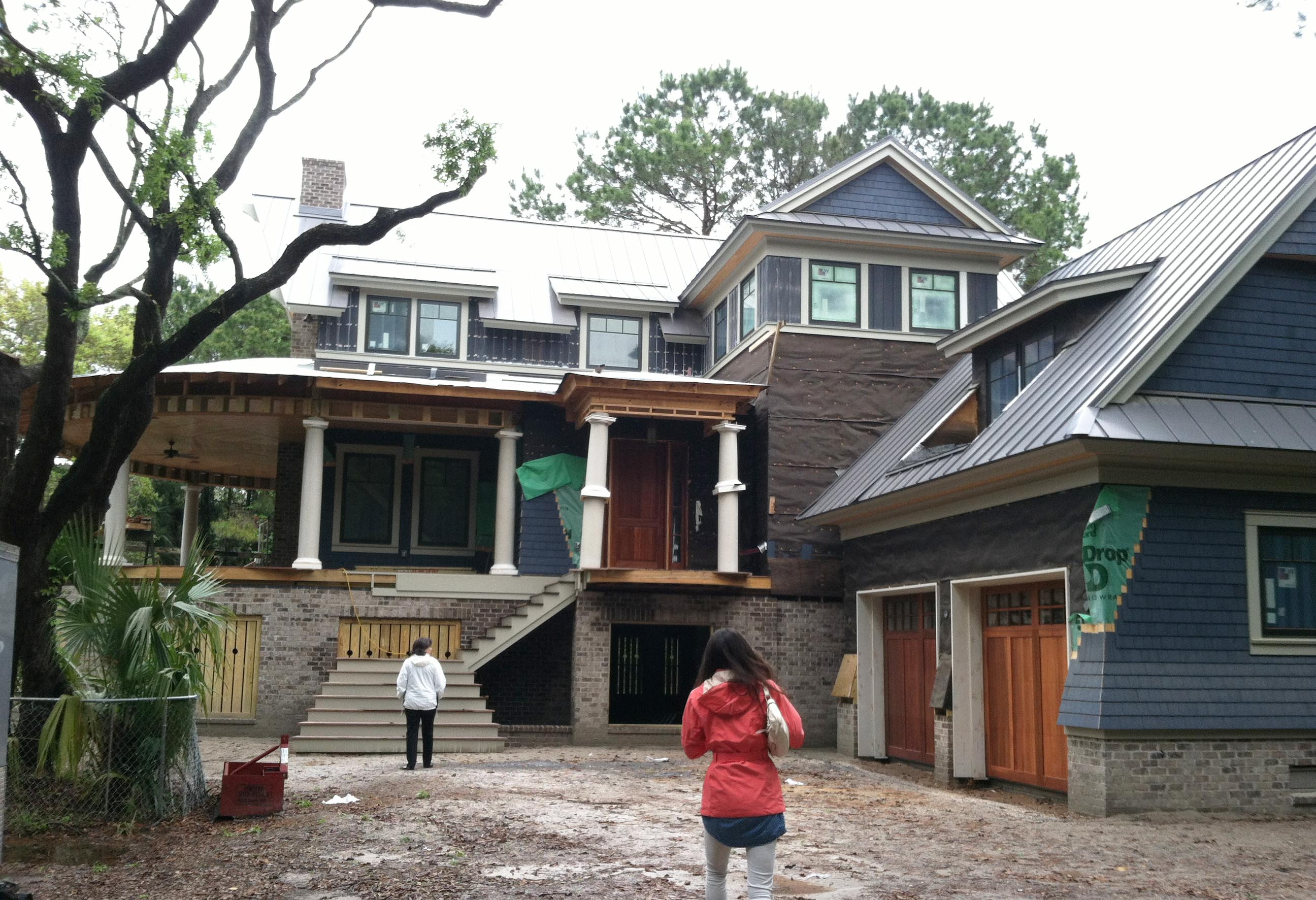 Construction Progress  The Settlement Kiawah Island Cumulus - Charleston home design
